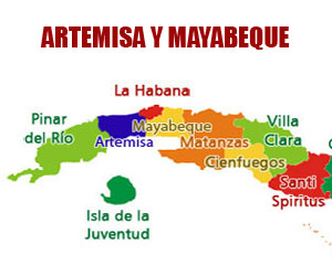 Cuba con dos nuevas provincias: Mayabeque y Artemisa